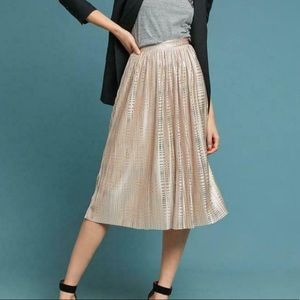 NWT Anthropologie Sabina Musayev Midi Skirt